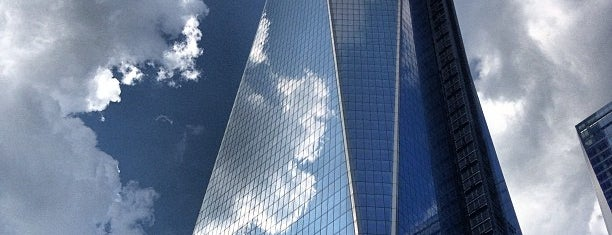 One World Trade Center is one of Gespeicherte Orte von Dominic.