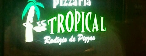 Pizzaria Tropical is one of Lugares favoritos de Adriana.