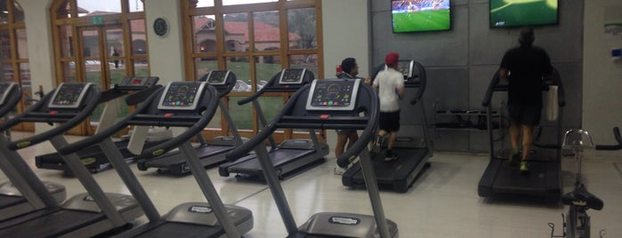 TechnoGym Hacienda Sta. Martina is one of Orte, die Mauricio gefallen.