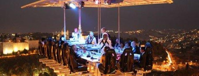 Dinner in the Sky México is one of quiero quiero *u*.