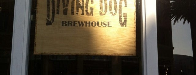 Diving Dog Brewhouse is one of Favorite Spots!.