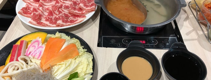 Ganso-Shabuway Japanese Style Hot Pot is one of Posti che sono piaciuti a Shank.