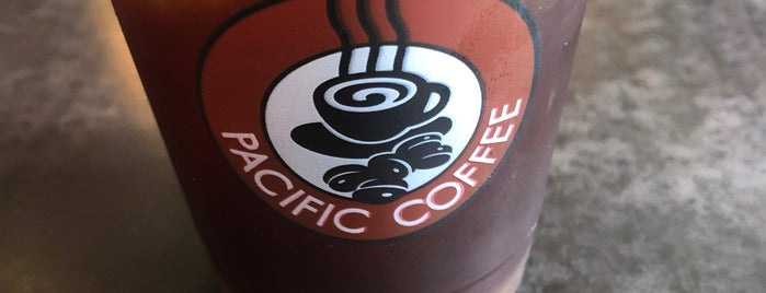 Pacific Coffee is one of Lieux qui ont plu à SV.