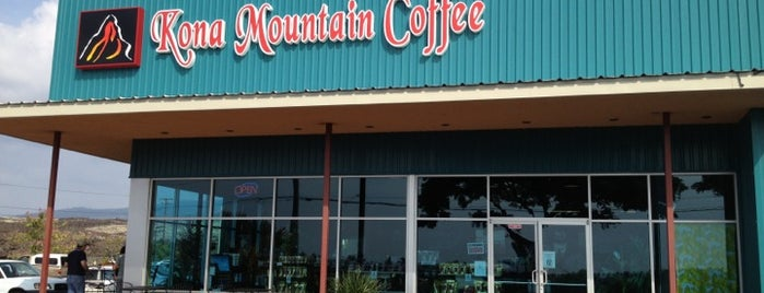 Kona Mountain Coffee is one of Big Island.