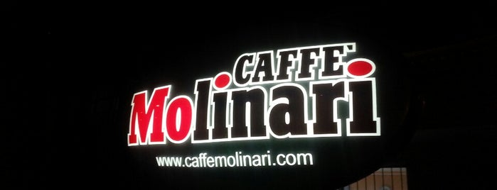 Caffè Molinari is one of Across the World.
