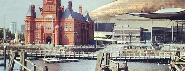 Cardiff Bay is one of Lugares favoritos de Matthew.