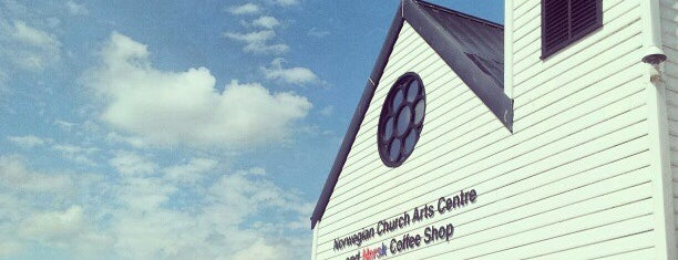 Norwegian Church Arts Centre is one of Local's Guide to Cardiff.