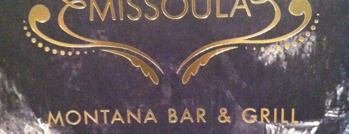 Missoula Montana Bar & Grill is one of Tempat yang Disukai Chris.