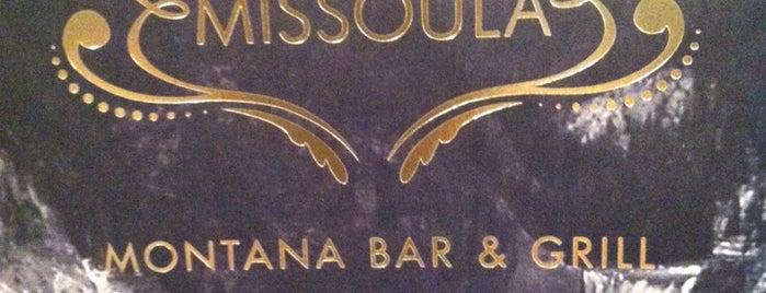 Missoula Montana Bar & Grill is one of Locais curtidos por Chris.