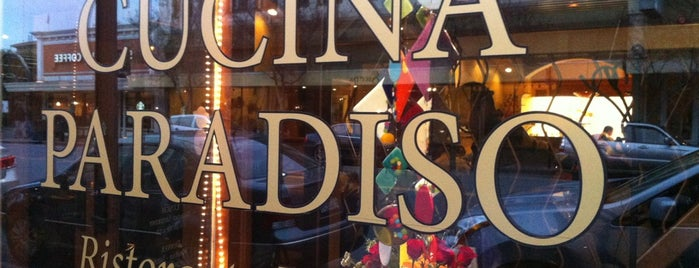 Cucina Paradiso is one of 2013 San Francisco Bib Gourmands.