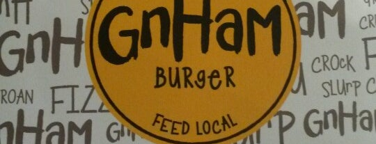GnHam Burger Bar is one of Francesco's Liked Places.