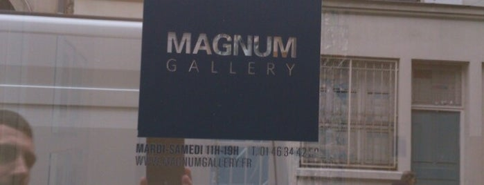 Magnum Gallery is one of Paris.