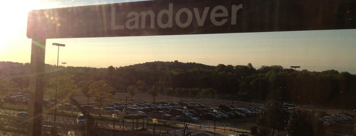 Landover Metro Station is one of DC Metro Insider Tips.