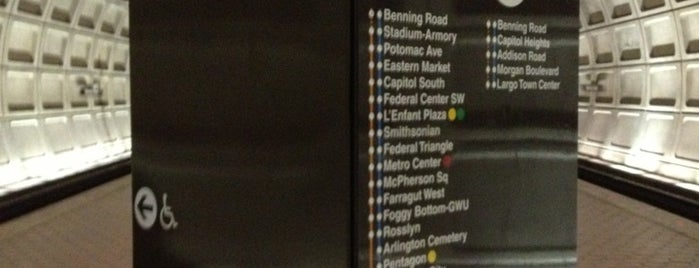 Benning Road Metro Station is one of DC Metro Insider Tips.