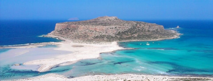 Balos Beach is one of Holidaying in Crete.
