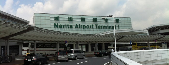 Aeroporto Internacional de Narita (NRT) is one of Locais curtidos por Michael.