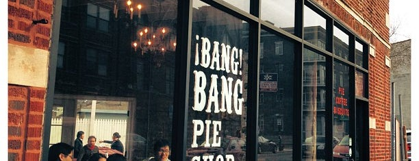 Bang Bang Pie Shop is one of Bask on this patio.