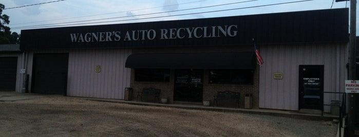 Wagner's Auto Salvage Inc is one of สถานที่ที่ Erica ถูกใจ.