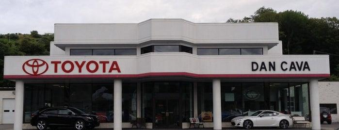 Dan Cava Toyota is one of Orte, die Shelley gefallen.