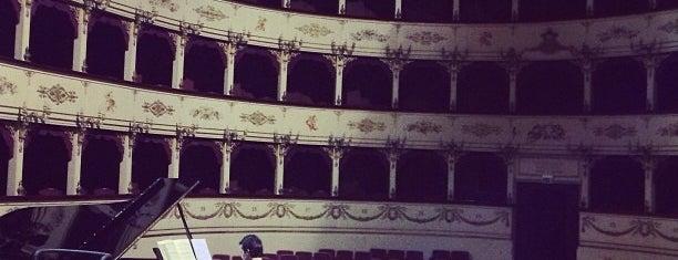 Teatro Rossini is one of MOTORDIALOG : понравившиеся места.