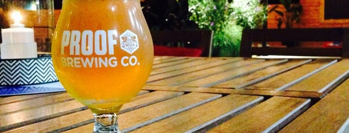 Proof Brewing Company is one of Home for the Holidays.