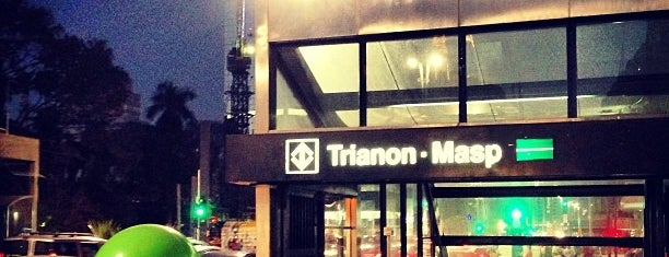 Estação Trianon-Masp (Metrô) is one of SP.