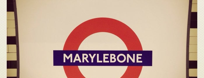 Marylebone London Underground Station is one of Lugares favoritos de Carl.
