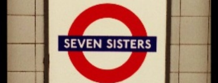 Seven Sisters London Underground Station is one of Underground Stations in London.
