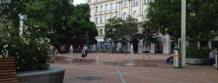 Wallensteinplatz is one of Wien.