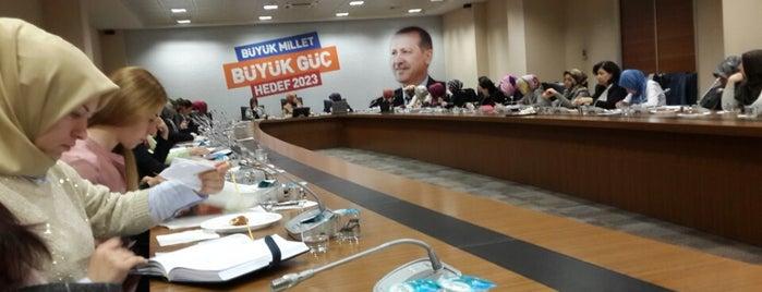 AK Parti İstanbul İl Başkanlığı is one of Bayrampaşa Çiçekçi.