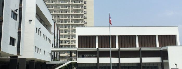 Mahidol University International Demonstration School is one of Posti che sono piaciuti a Prim Patsatorn.