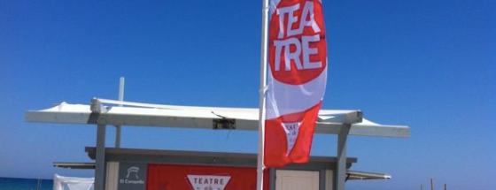 Teatre en la Playa is one of Tempat yang Disukai Eva.