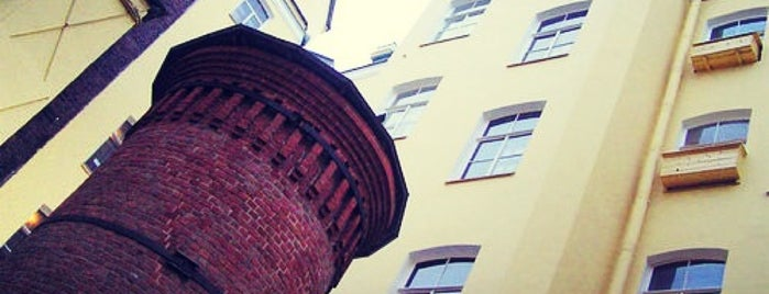 Башня Грифонов (Цифровая Башня) is one of СПб. Необычные места.