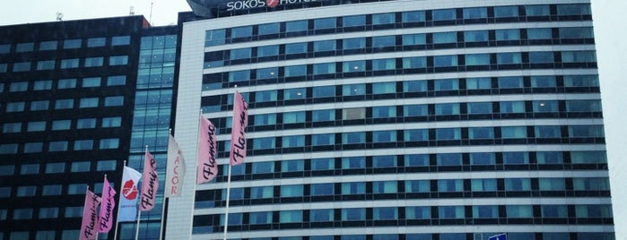 Break Sokos Hotel Flamingo is one of Hotel History.