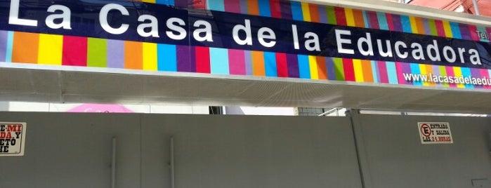 La Casa de la Educadora is one of Lugares guardados de Claudia.