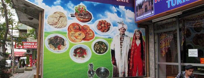 Türkistan Yemekleri is one of Istanbul Eateries.