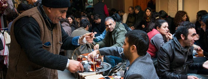 Kahveci Mustafa Amca Jean's is one of Istanbul Eateries.