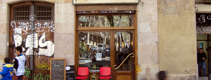 Bar Andorra is one of Barcelona Eateries.