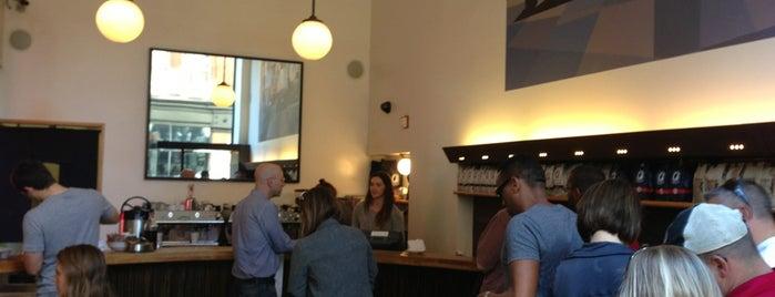 La Colombe Coffee Roasters is one of Coffee Shops Below 14th Street.