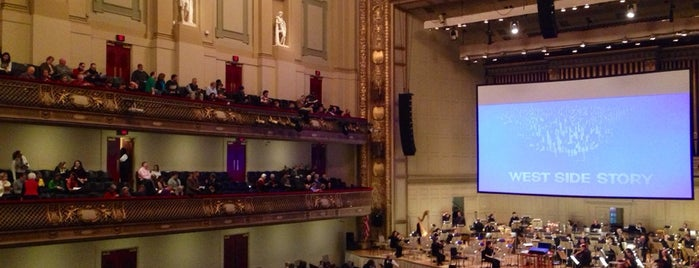 Symphony Hall is one of Boston.