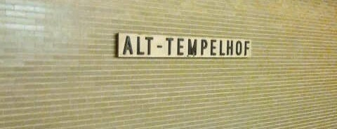 U Alt-Tempelhof is one of U & S Bahnen Berlin by. RayJay.