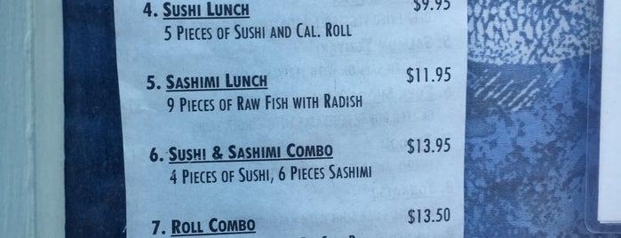 Sushi Matsumoto is one of Lexington VA.