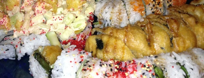 Sushi Blues Cafe is one of Lieux qui ont plu à Heather.