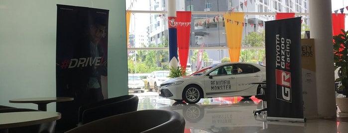 Hiewa Auto Gallery (Toyota Service Centre) is one of Neu Tea's Nav.