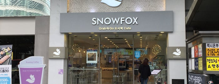 SNOWFOX is one of Lugares favoritos de Matt.