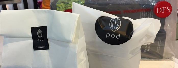 Pod Chocolate Shop & Café, Bali Domestic Airport is one of FOOD and DRINK.