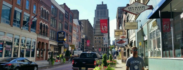 Jeweler's Row is one of Philadelphia, PA.