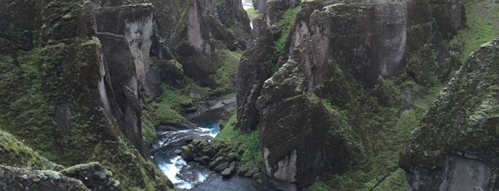 Fjaðrárgljúfur is one of Part 1 - Attractions in Great Britain.