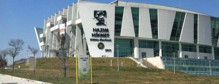 Nazım Hikmet Kültür Merkezi is one of Türkiye Mimarlık Yıllığı 2012.