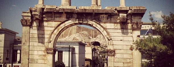 Hadrian's Arch is one of Locais curtidos por Carl.